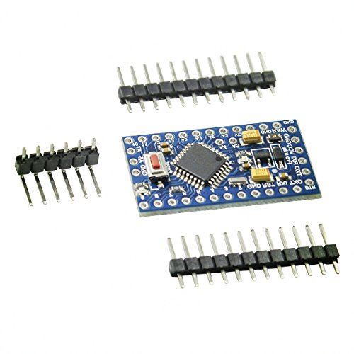 IZOKEE Pro Mini ATMEGA328P 5V 16MHz Module Development Board Microcontroller Compatible with Arduino PRO Module 3x Arduino PRO 5V 16MHz