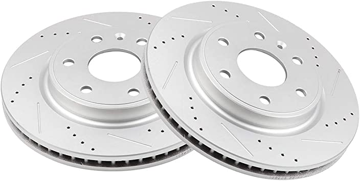 2012 2013 Buick Enclave OE Replacement Rotors Ceramic Pads F