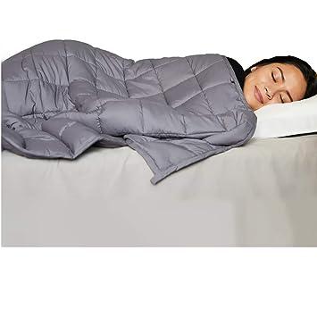 Amazon.com: Manta de algodón con peso para niños y adultos ...