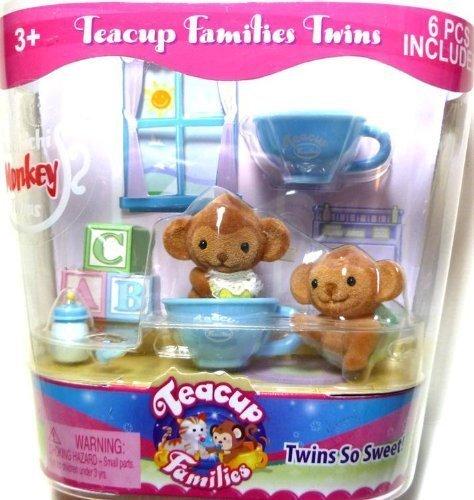 "Teacup Families Twins ""Machichi Monkey Twins"""
