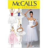 McCalls Ladies Sewing Pattern 7615 Ballet Costumes & Tutus