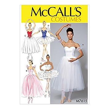 McCall \'s Damen Schnittmuster 7615 Ballett Kostüme & für: Amazon.de ...