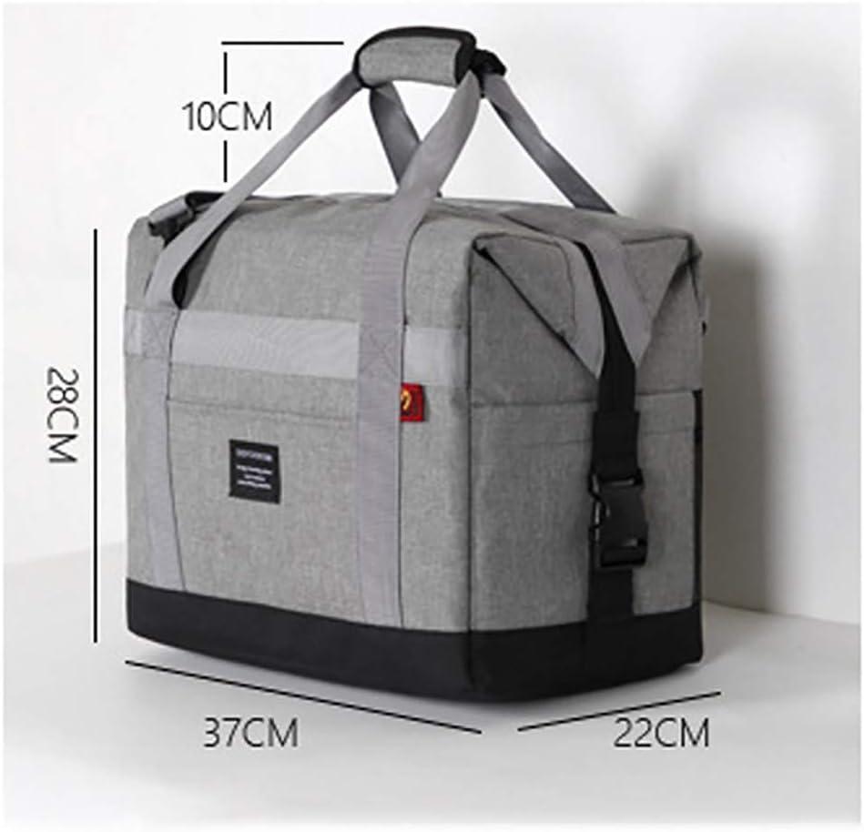 hammock Borsa Termica Isolante Portatile Isolante del Sacchetto di Pranzo della Scatola di Pranzo All'Aperto di Picnic della Spalla,per Campeggio Picnic Eventi Sportivi 2