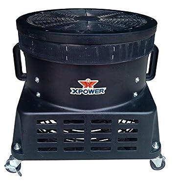 XPOWER 18 in. Vertical Advertisement Blower Fan (1 HP), Black