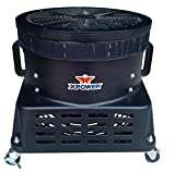 """XPOWER BR-450 1 HP 18"""" Vertical Advertisement Inflatable Blower Fan for Sky Fly"""