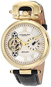 Stuhrling Original Men's 127.33352 Boardroom 'Emperor' Dual-Time Zone Watch