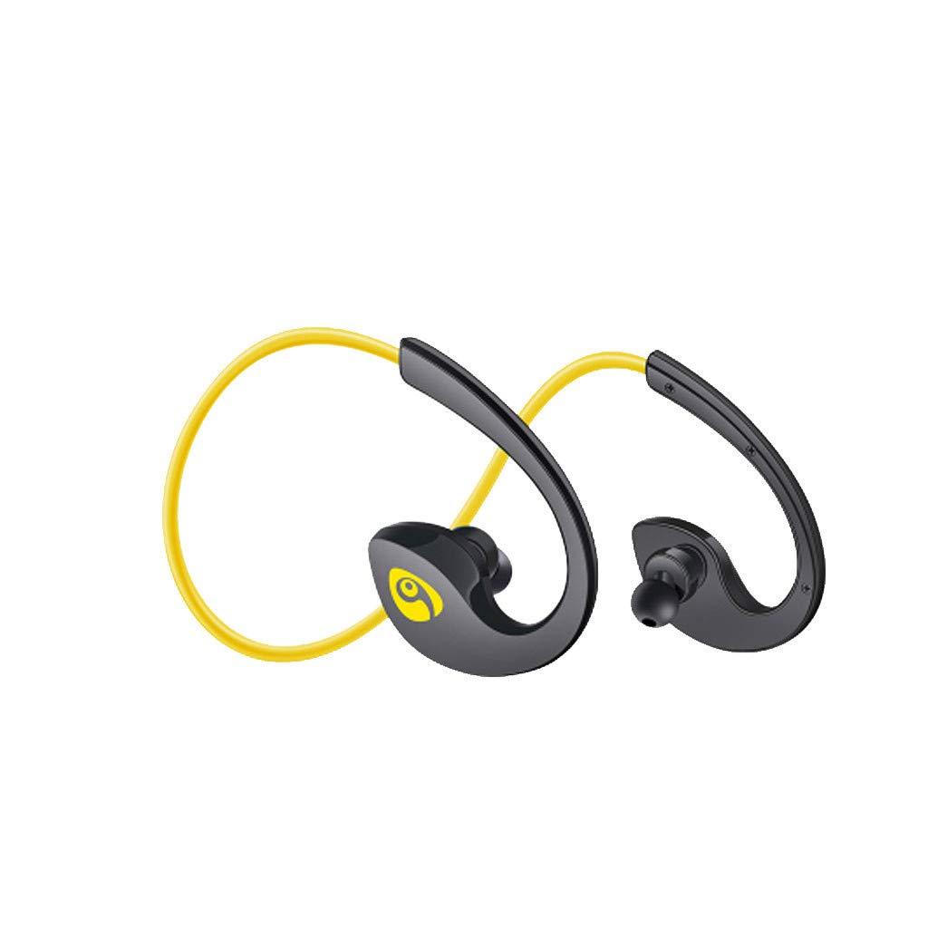 True Wireless Earphones S12 Universal Bluetooth IPX4 Waterproof Sweatproof Sport Ear Hook Headphones Long Standby Low Latency Auto Pairing Earbuds Noise Cancelling Headset