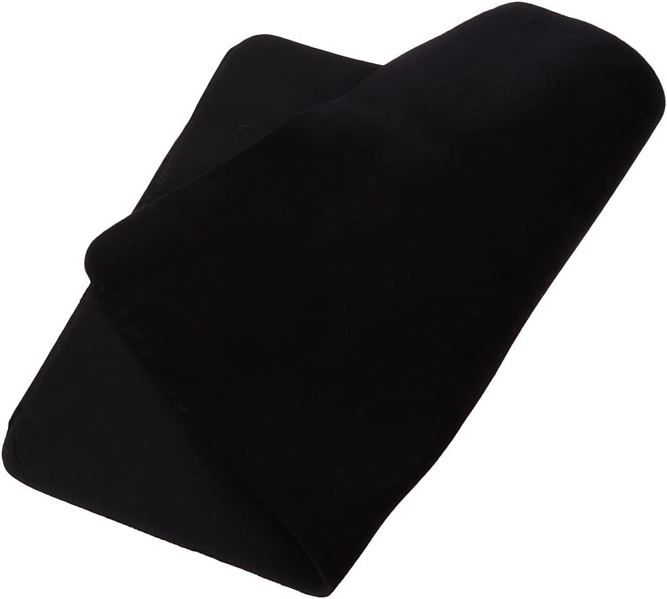 Portable Magic Cards Pad Poker Mat for Magician Accessory 42 x 32cm Black