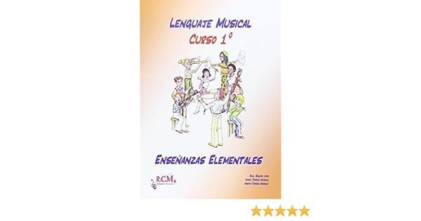 LENGUAJE MUSICAL 1 ENSEÑANZAS ELEMENTALES: Amazon.es: SEGURA VARO ...