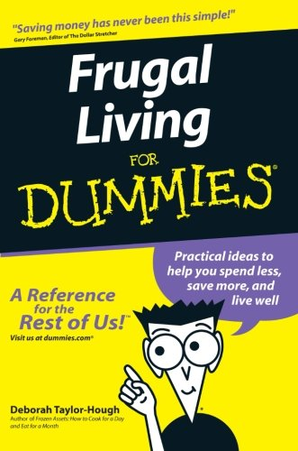 [F.R.E.E] Frugal Living For Dummies EPUB