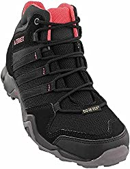 adidas outdoor Womens Terrex AX2R Mid GTX Black/Black/Tactile Pink Athletic Shoe