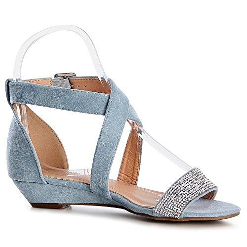Sandales Sandales Sandalettes Sandalettes Topschuhe24 Sandalettes Bleu Sandales Femmes Topschuhe24 Bleu Bleu Femmes Femmes Topschuhe24 Topschuhe24 dqABd