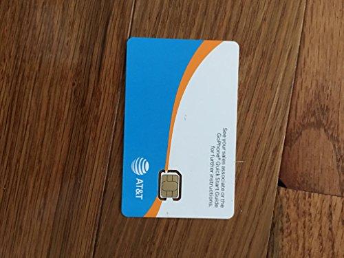 ATT Go Phone Nano Sim Card (10 Lot) IPhone5/6/7