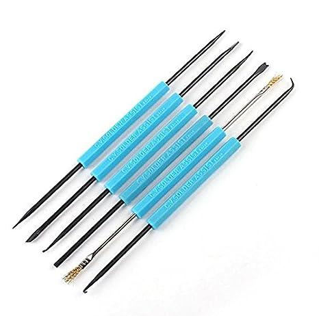 MEJOR SA-10 6 En 1 Pase Soldadura Soldadura auxiliar Kit de herramientas: Amazon.es: Electrónica