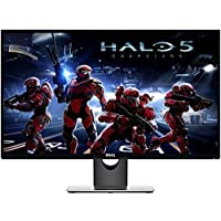 Premium High Performance Dell 27 Full HD IPS LED-Backlit 1920x1080 Resolution Monitor Widescreen 16:9 Aspect Ratio 6ms Response Time HDMI VGA Inputs
