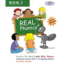 Learn to Read with REAL Phonics, Book 2, Homeschool Version: For Beginning Readers