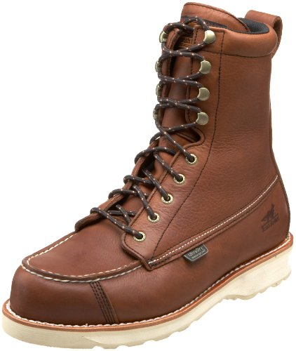 Irish Setter Men's 894 Wingshooter Waterproof 9'' Upland Hunting Boot,Amber,9 D US by Irish Setter