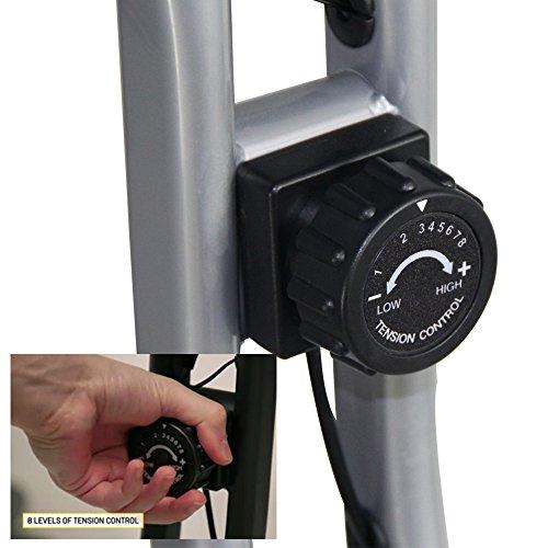 Ativafit Exercise Bike Folding Magnetic Upright Adjustable Seat With Pulse Rate Sensors Fitness&Work Indoor Trainer Resistance Bikes