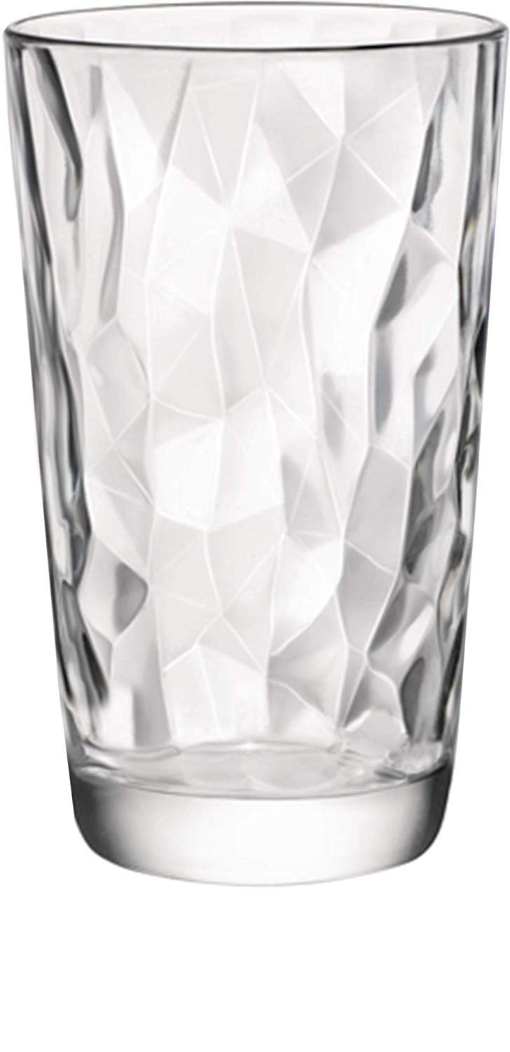Emenest Clear Drinking Glasses Cocktails   Real Glassware with Heavy Base Whiskey Best Kitchen Gift 4 Double Old Fashioned Drinkware Tumbler Set For Water Set of 4 12.5oz