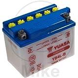 Yuasa YB4L-B Batteria per Motocicletta, 120x70x92 mm, 12V