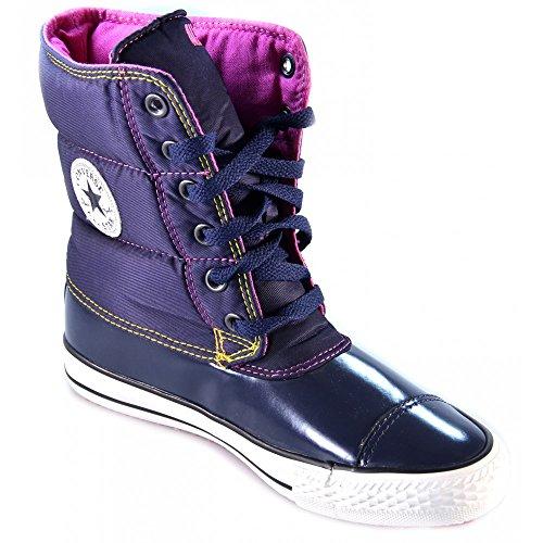 Fonc Bleu Star 527394c Femme Slushie Synth All Mid Nylon Bottines Boot Converse Twill pB7qw