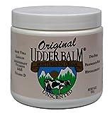 Original Udder Balm Unscented Moisturizing Creme Jar, 16 oz