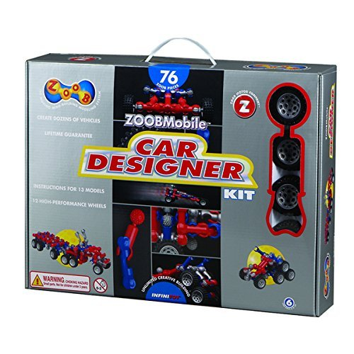 (ZOOBMobile IF12052 Car Designer Kit by ZOOBMobile)