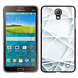 Samsung Galaxy Mega 2 , JackGot - Impreso colorido protector duro espalda Funda piel de Shell (Ingeniería líneas limpias minimalista)