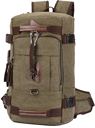 Travel Backpack, Aidonger Vintage Canvas Hiking Daypack