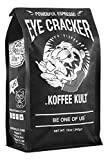Koffee Kult Eye Cracker Espresso Beans – Bright, Bold Medium Roast with a Citrus Twist Coffee (12oz)
