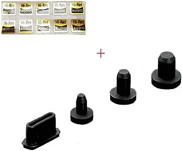 BestforYou Dust Plug for iBasso DX220 DX200 DX160 DX150 for SHANLING M6 2.5MM 3.5MM 4.4MM Type C Jack