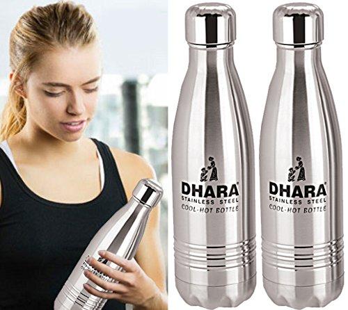 Dharaステンレススチールウォーターボトルfor Hot & Cold Water ( 1500ml ) -dhara51 B07B2TN7XB