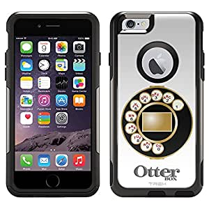 Otterbox Commuter Case for Apple iPhone 6 - Antique Telephone Dial Plate on Black