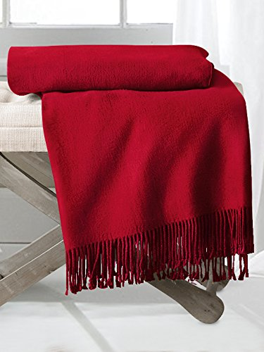 Amazon.com: ElleSilk Silk Throw Blanket, Silk Throws for ...