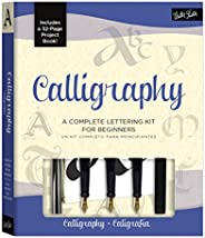 Calligraphy Kit: A Complete Lettering Kit for Beginners [With Calligraphy Pens and Paper]