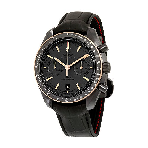 Omega-Speedmaster-Moonwatch-Chronograph-Automatic-Black-Dial-Mens-Watch-31163445106001