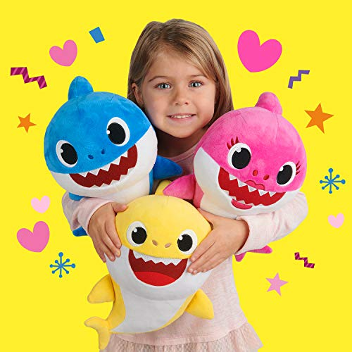 51jZp8s9MpL - Pinkfong Baby Shark Official Song Doll - Baby Shark - By WowWee