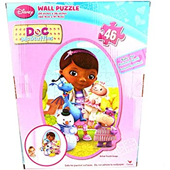 Amazon Com Disney Doc Mcstuffins 46 Piece Repositionable