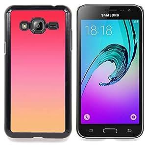 - pink red yellow sky nature sunset - - Modelo de la piel protectora de la cubierta del caso FOR Samsung Galaxy J3 RetroCandy