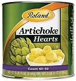Roland Artichoke Hearts (40/50 Count), 5 lb. 8 oz. Can