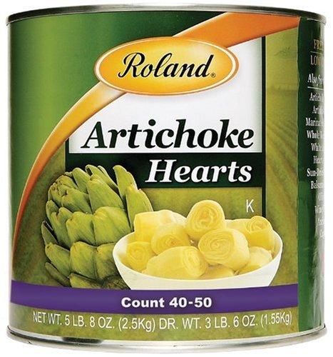 (Roland Artichoke Hearts (40/50 Count), 5 lb. 8 oz. Can)