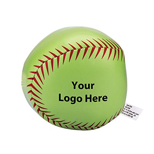 Softball Pillow Ball - 150 Quantity - $2.85 Each - PROMOTIONAL PRODUCT / BULK / BRANDED with YOUR LOGO / CUSTOMIZED by Sunrise Identity