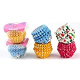 100 Cake paper cups paper pad mini chocolate cupcakes