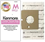 10 For Kenmore Type M Magic Blue 51195, 50101 Premium Allergen...