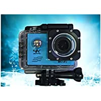 Action Camera Waterproof HD 1080P Sports Camera DVR 2.0 Inch LCD Display Cam DV Camcorder 170 Degree Wide Angle IP68 30m with Mounts and Accessories