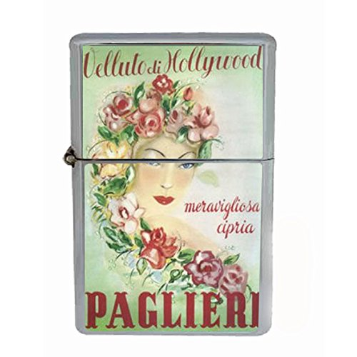 Paglieri Hollywood Italy Nice Dual Torch Lighter D-063 by Perfection In Style