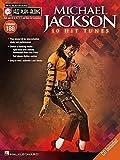 Michael Jackson: 10 Hit Tunes, Bflat, Eflat C and Bass Clef Instruments (Jazz Play-Along)