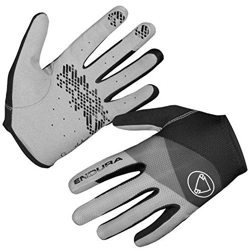 Endura Hummvee Lite Full Finger Glove Matte Black, Medium