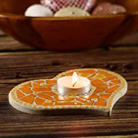 blue Mosaic Craft Kit for a Tea Light Base