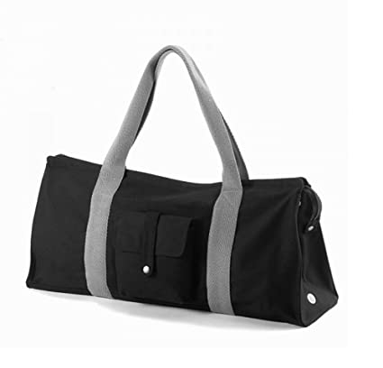 86a177e3b9 Image Unavailable. Image not available for. Color  Mariego Yoga Essentials  Tote Bag Extra Large Canvas Black